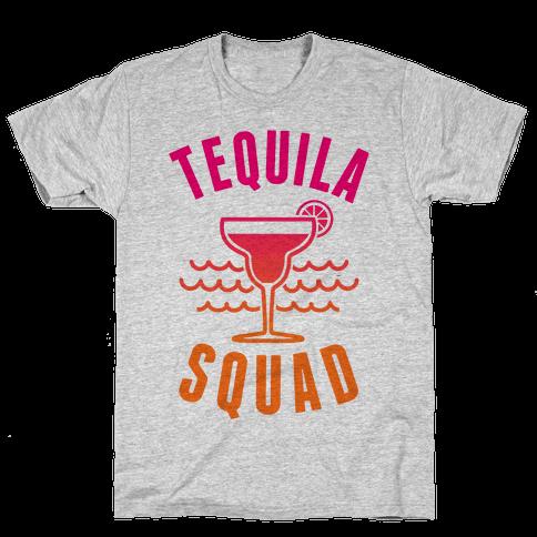 Tequila Squad Mens/Unisex T-Shirt