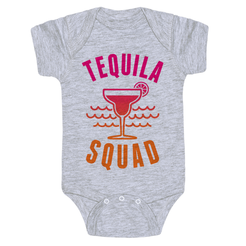 Tequila Squad Baby Onesy