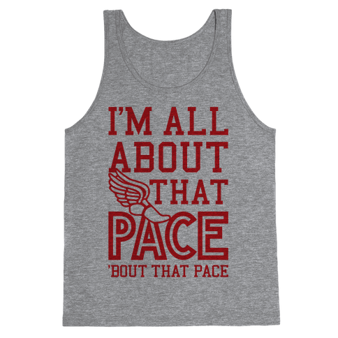 You Know I'm All About That Pace Tank Top