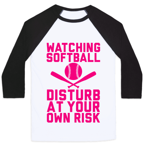Watching Softball Baseball Tee