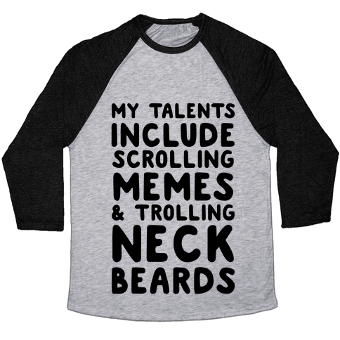 My Talents Baseball Tee