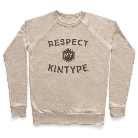 Respect My Kintype Pullover