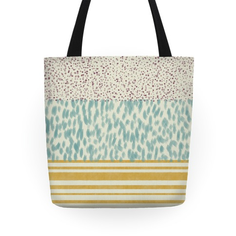 Watercolor Pattern Tote