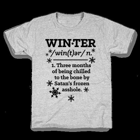 Winter Definition Kids T-Shirt