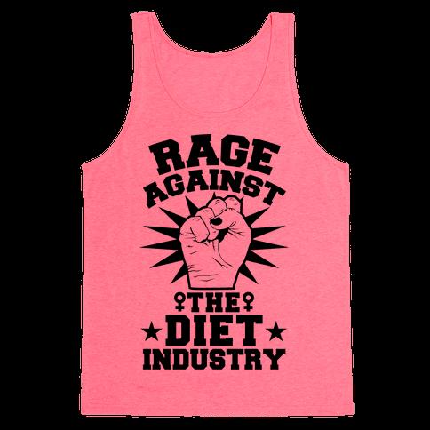 Rage Against the Diet Industry Tank Top