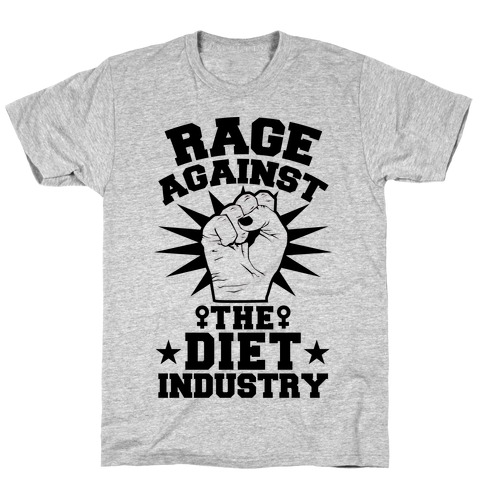 Rage Against the Diet Industry T-Shirt