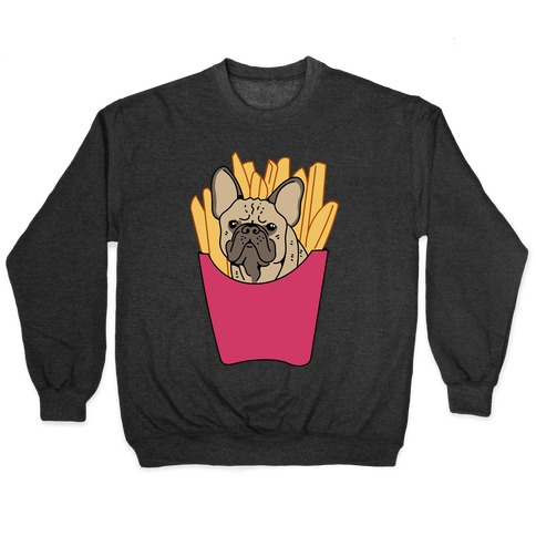 French Fry French Bulldog Pullover