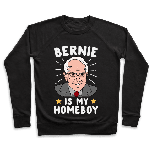 Bernie Is My Homeboy Pullover