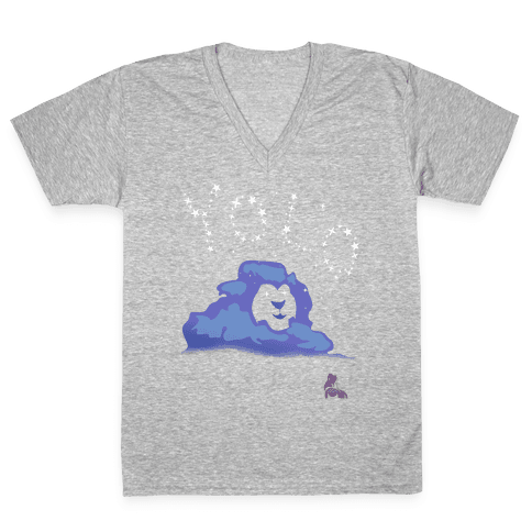 Yolo Lion V-Neck Tee Shirt