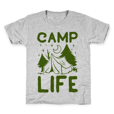 Camp Life Kids T-Shirt