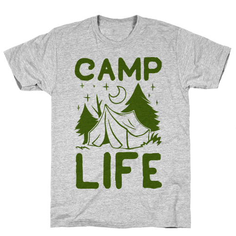 Camp Life Mens T-Shirt
