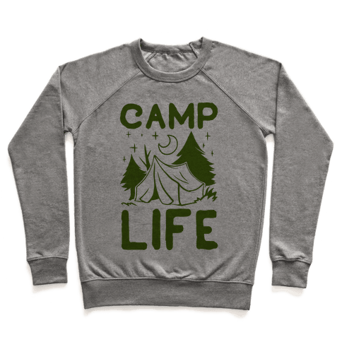 Camp Life Pullover