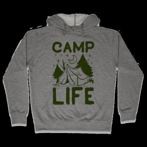 Camp Life Hooded Sweatshirt