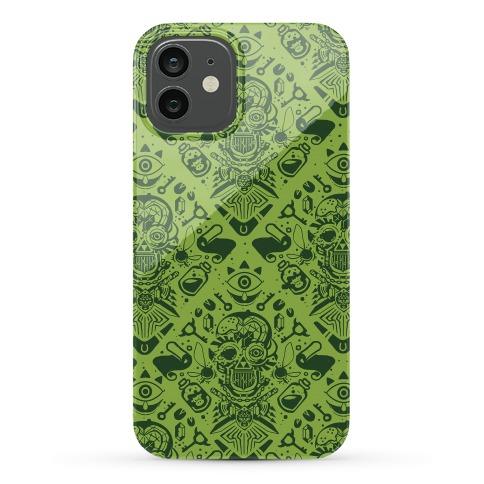 Legend Of Zelda Equip Pattern Phone Case
