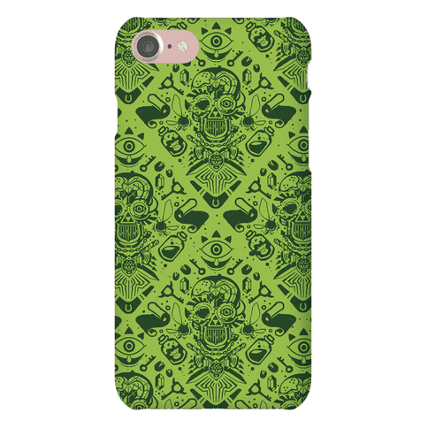 Legend Of Zelda Equip Pattern Phone Case