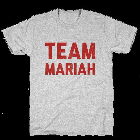 Team Mariah Mens T-Shirt
