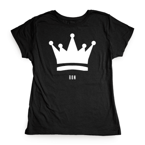 Ron's Crown (Friend Set) Womens T-Shirt