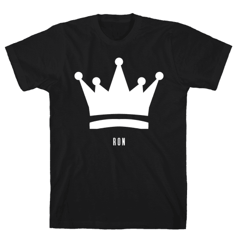 Ron's Crown (Friend Set) Mens T-Shirt