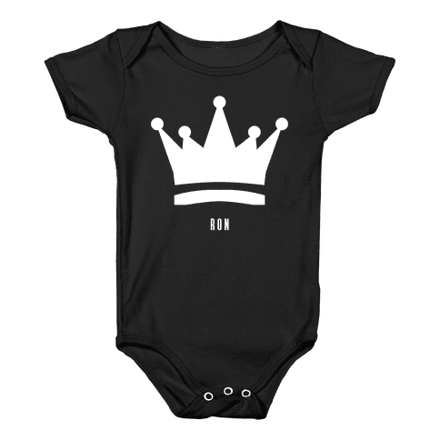 Ron's Crown (Friend Set) Baby Onesy