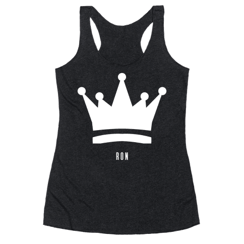Ron's Crown (Friend Set) Racerback Tank Top