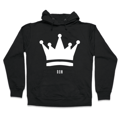 Ron's Crown (Friend Set) Hooded Sweatshirt