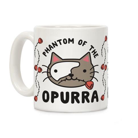 Phantom of the Opurra Coffee Mug