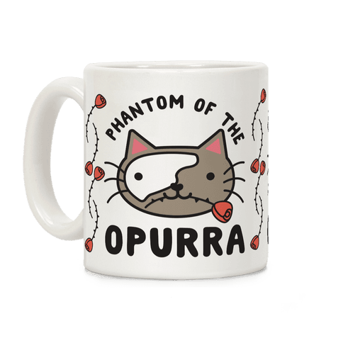 Phantom of the Opurra Coffee Mug
