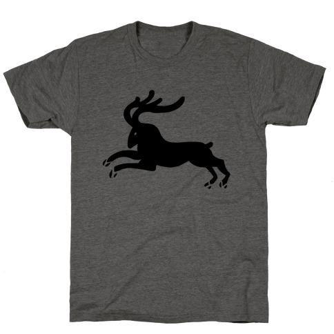 Reindeer Running T-Shirt