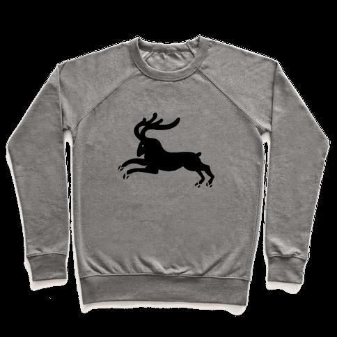 Reindeer Running Pullover