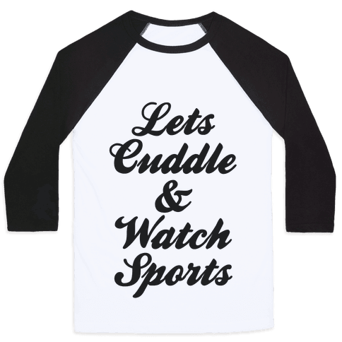 Cuddle & Sports Baseball Tee