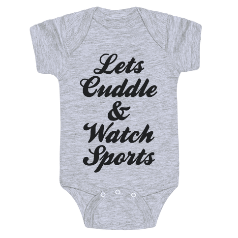 Cuddle & Sports Baby Onesy