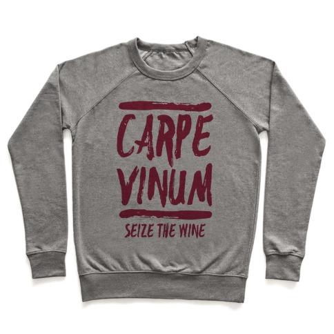 Carpe Vinum Pullover