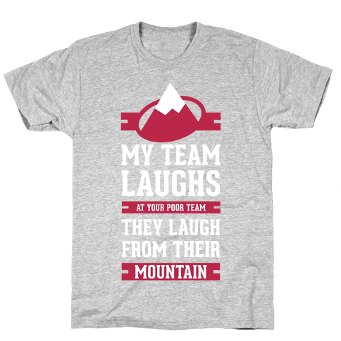 Avalanche Laugh Mens T-Shirt