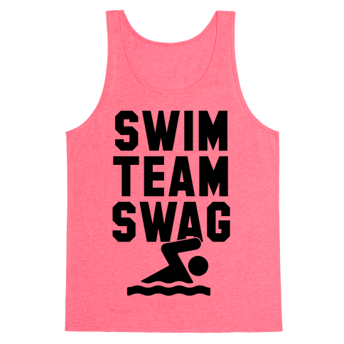 Swim Team Swag Tank Top