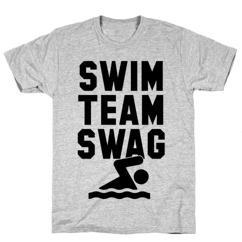 Swim Team Swag Mens T-Shirt