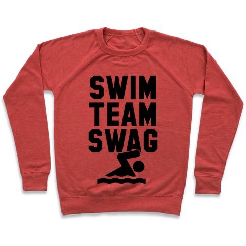 940e60a1a757 Swim Team Swag Crewneck Sweatshirt