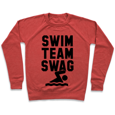 Swim Team Swag Pullover