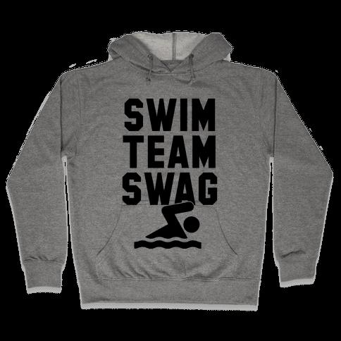 Swim Team Swag Hooded Sweatshirt