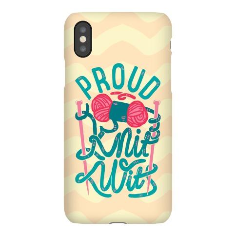 Proud Knit Wit Phone Case