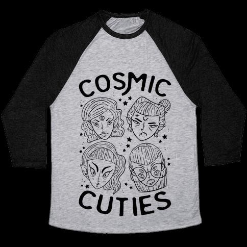 Cosmic Cuties Baseball Tee
