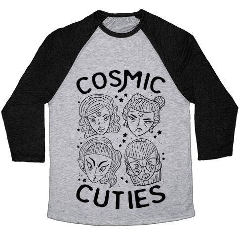 Cosmic Cuties Baseball Tee