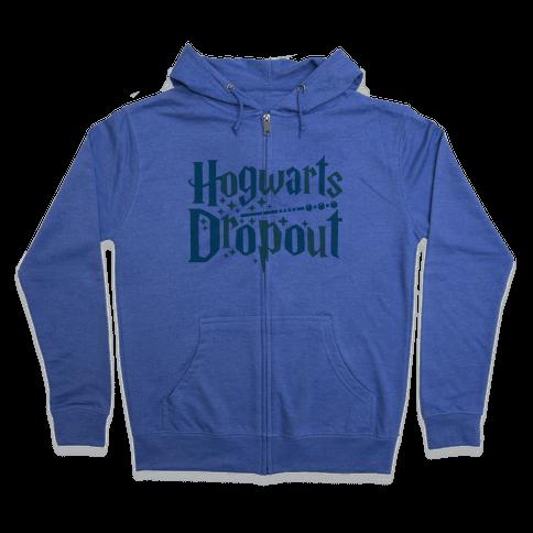 Hogwarts Dropout Zip Hoodie