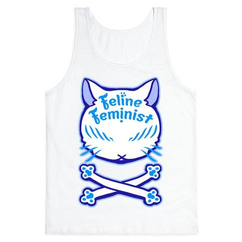 Feline Feminist Tank Top