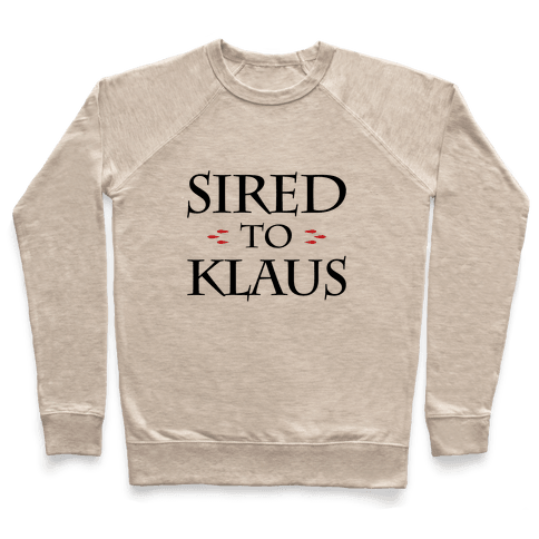 Sired To Klaus Pullover