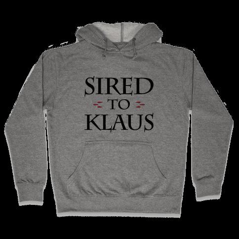 Sired To Klaus Hooded Sweatshirt