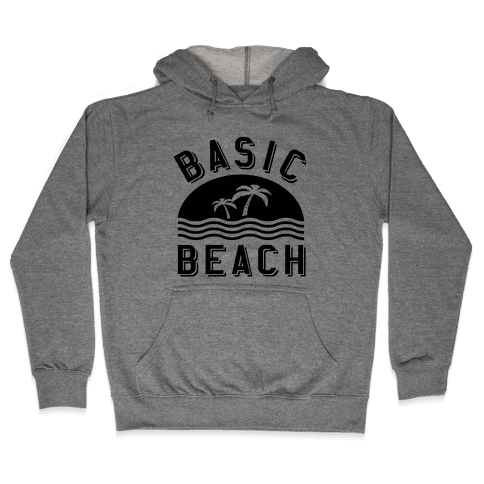 Basic Beach Hooded Sweatshirt