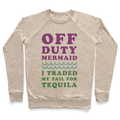 Off Duty Mermaid Pullover
