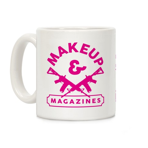 Makeup And Magazines Coffee Mug