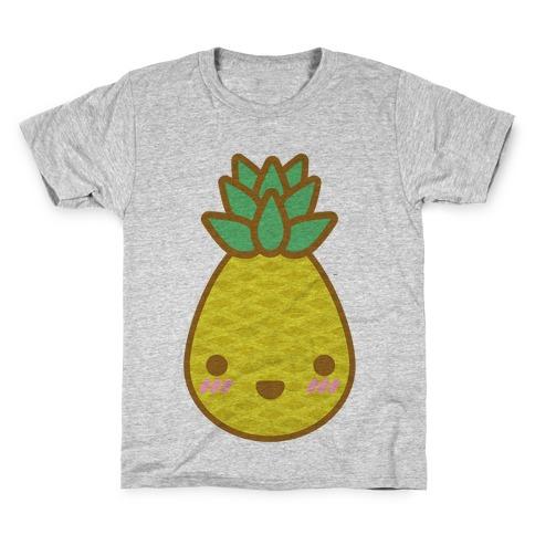 Kawaii Pineapple Kids T-Shirt