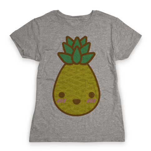 Kawaii Pineapple Womens T-Shirt